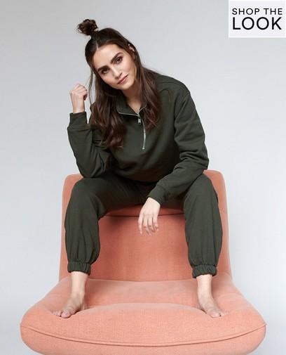 Pretty in comfy homewear
